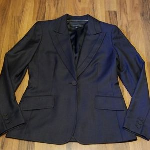 Anne Klein Charcoal Black Blazer Jacket